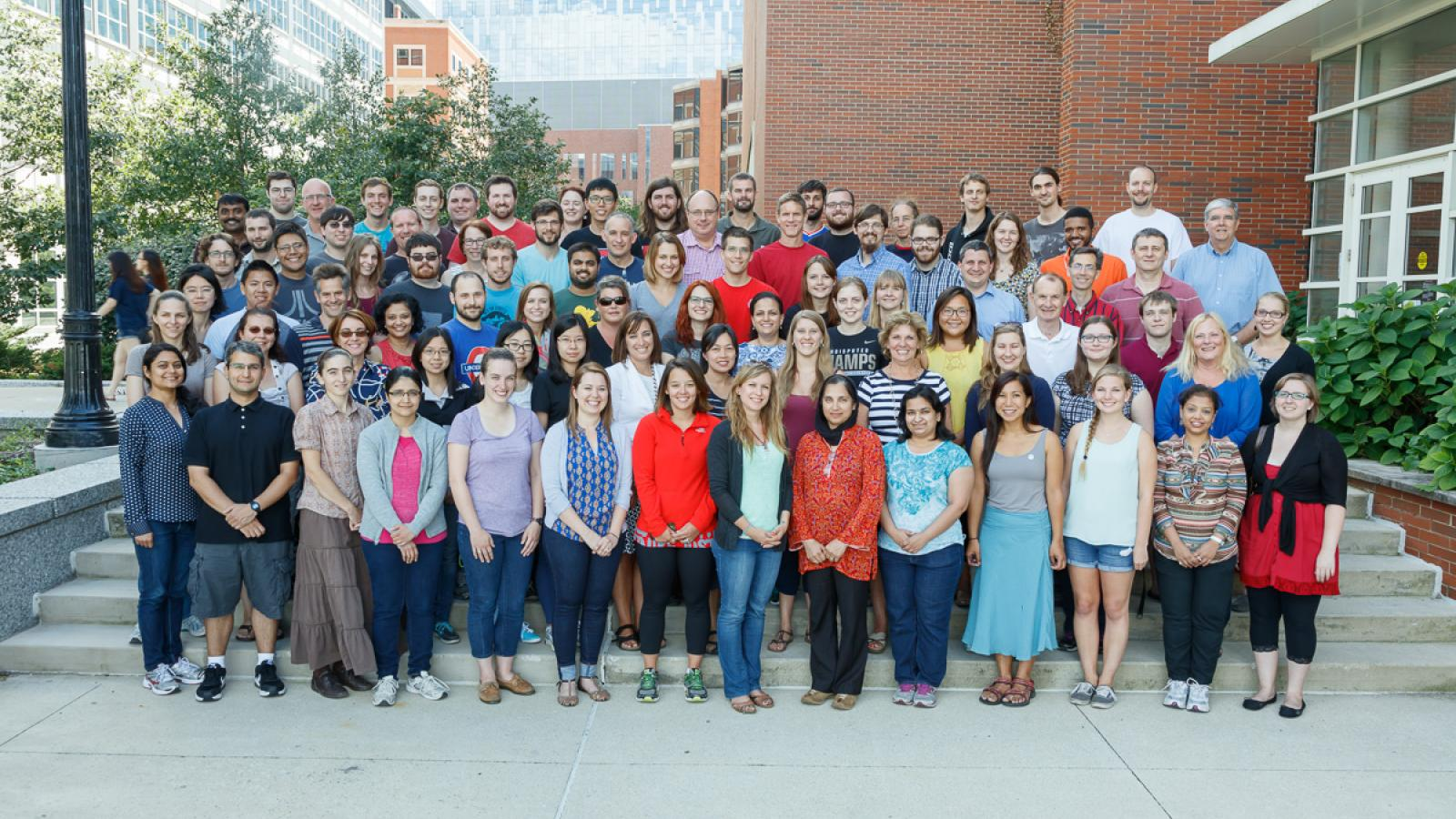 Microbiology Group Photo, August 2015
