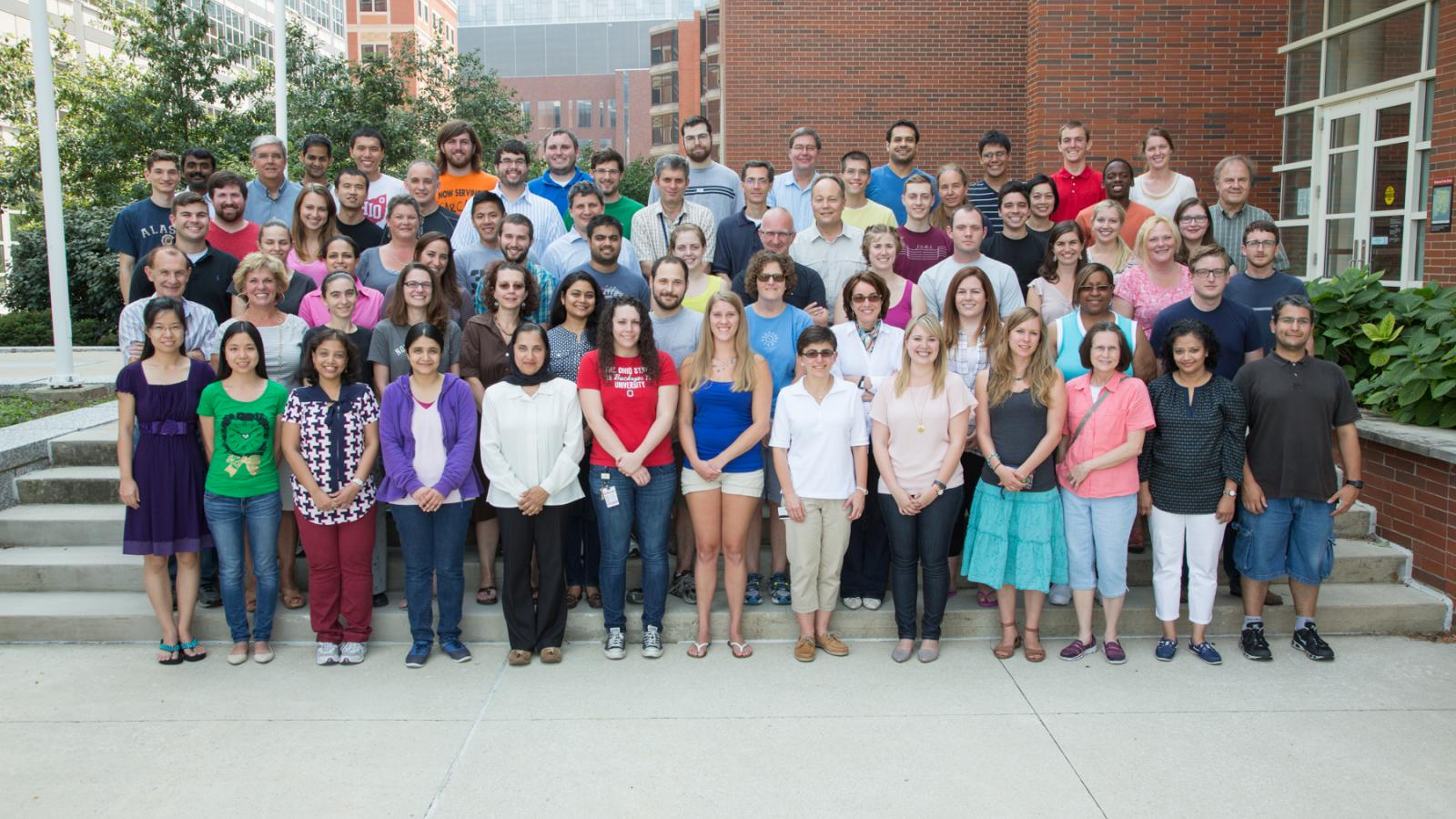 Microbiology Group Photo, August 2014