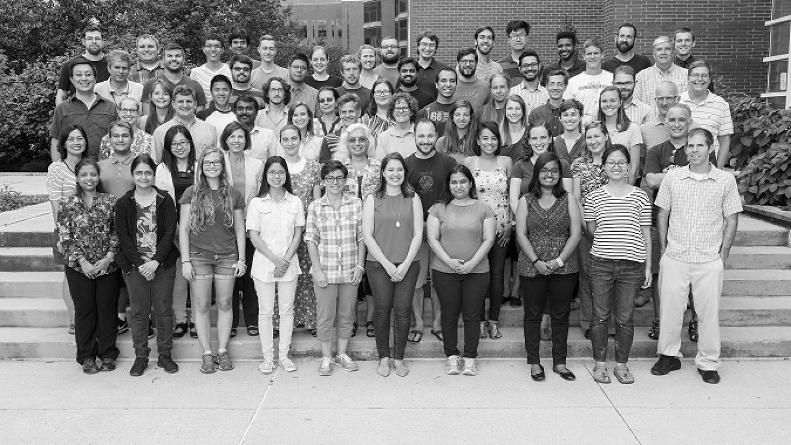 Microbiology Group Photo, August 2016